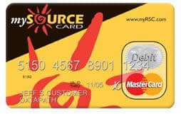 My Source Card